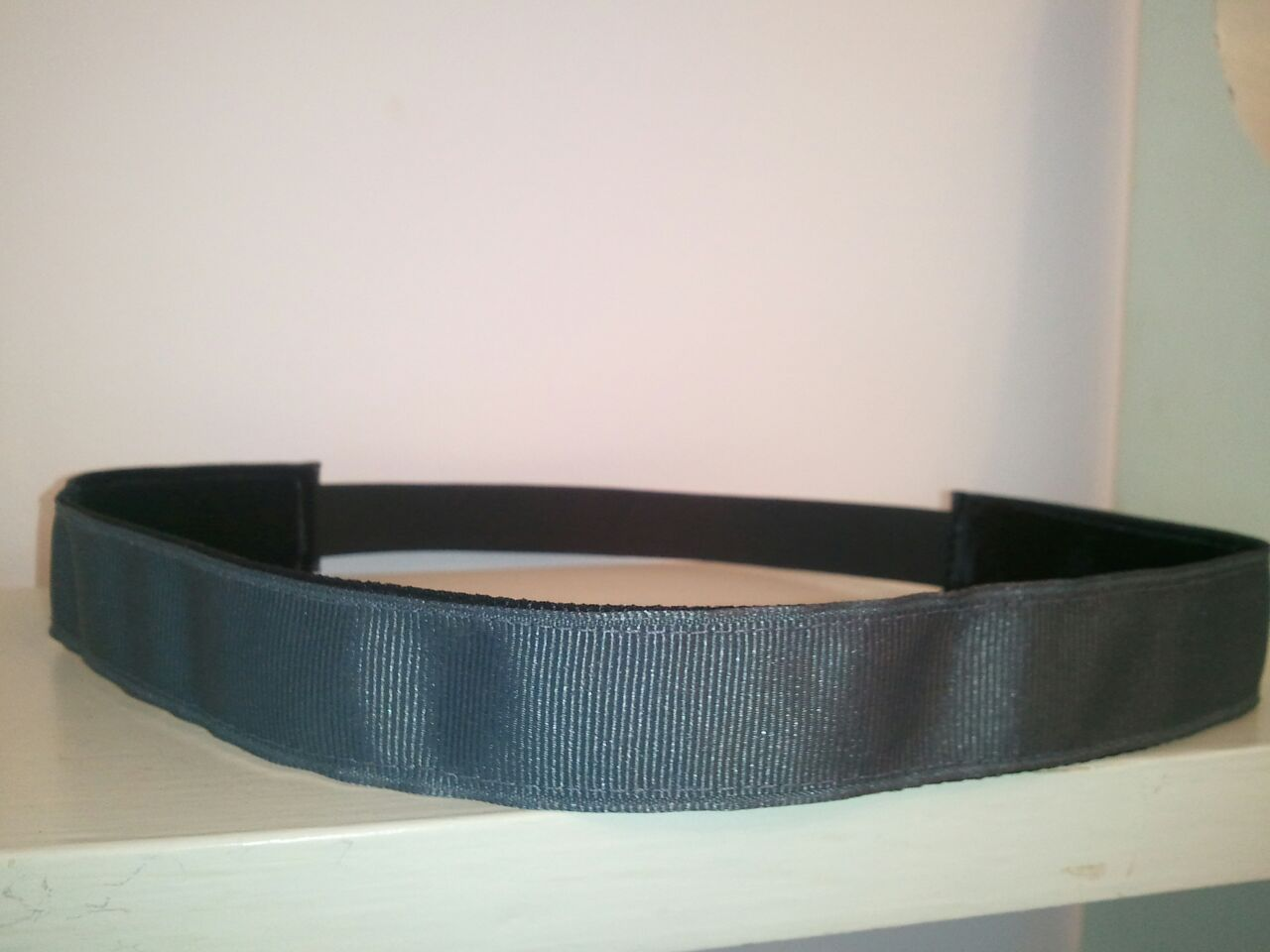 Dark Gray No Slip Headband