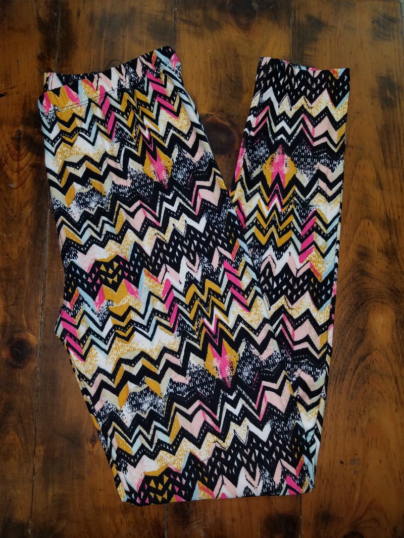 Chevron Leggings {one size}