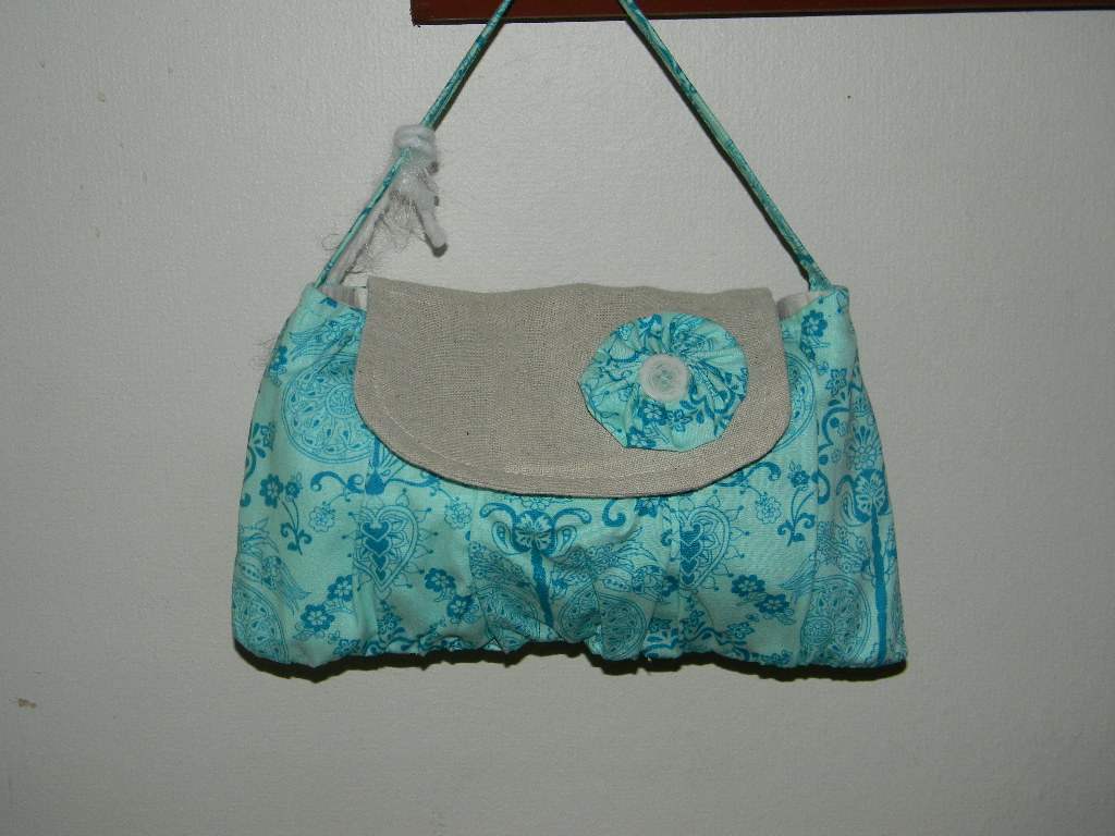 The Amelia Purse in Imperial Turquoise
