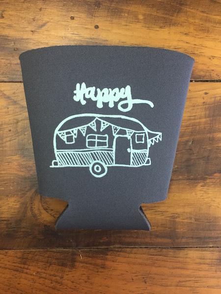 Happy Camper Koozie