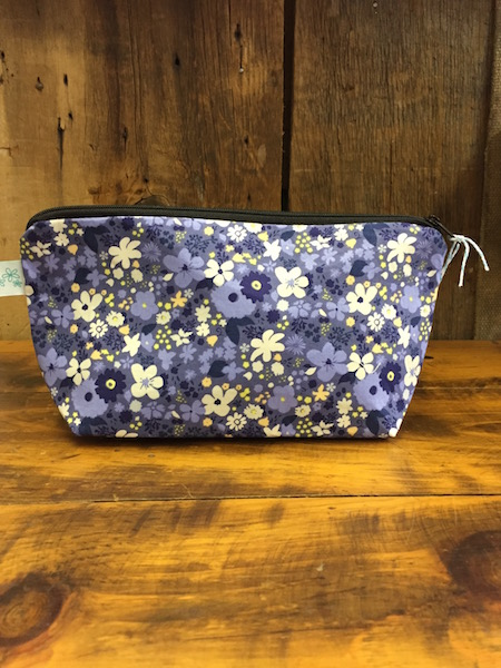 Makeup Bag {vintage rush bleu}