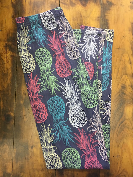 Pineapple Leggings {One Size, Full Length}