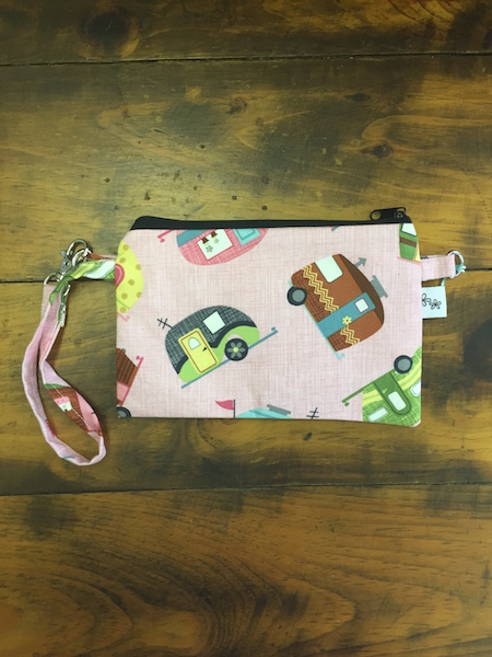 Tossed Trailer Lily Convertible Wristlet