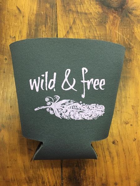 Wild & Free Koozie