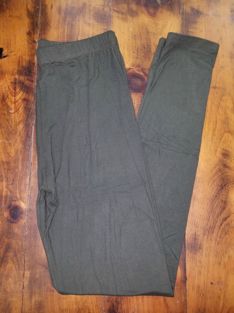 Olive Leggings {one size}